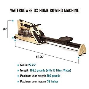 WaterRower GX Home Rowing Machine by WaterRower