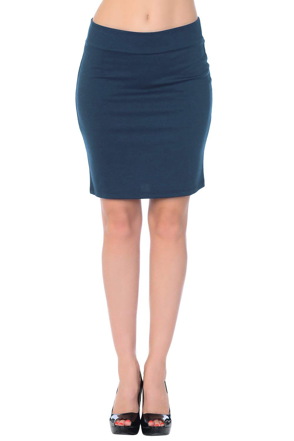 Jubilee Couture Womens Above Knee Short Mini Pencil Skirt Made in USA 14JCS5007