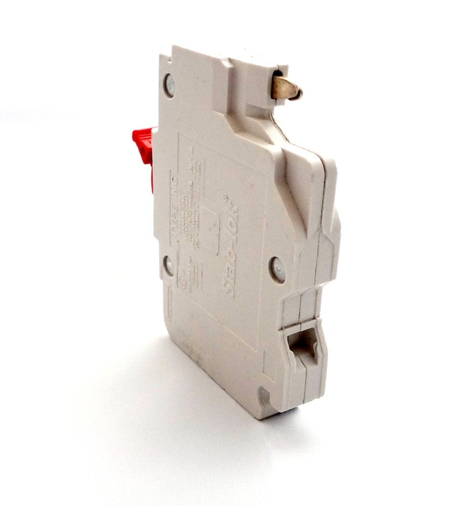 Schneider Electric Nc020cp Stab Lok Nc Single Pole 20 Amp Plug On Turning Off A 20amp Circuit Breaker Ivory Miniature Breakers Amazon Canada