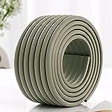 SYGA Foam Baby Bump Protector Safety Strip for Furniture Edges (2M)(Grey)