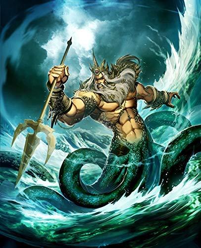 Amazon Com Poseidon Print Poseidon Canvas See God