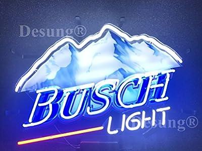 New B usch L Ight Neon Sign with HD Vivid Printing Technology Custom Handmade Real Glass Neon Light NT06