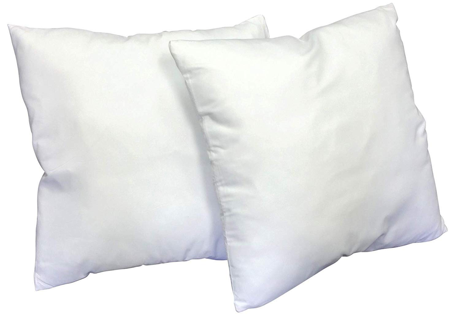 Web Linens Inc Multiple Sizes - Set of 2 - Poly Pillow Inserts with Zippered Cover- Premium Quality- 36x36- Exclusively by Blowout Bedding RN# 142035 by Web Linens Inc