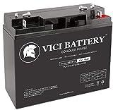 VICI Battery VB18-12 - 12V 18AH Replacement for Silent Partner Sport 2010 Newer 12V 18Ah Tennis Ball Machine Battery