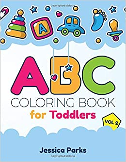 ABC Coloring Book For Toddlers: Alphabet Activity Coloring Book For ...