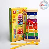 Image of Ehome Xylophone for Kids, Musical Toy for Toddlers - With Clear Sounding Keys, Four Child-Safe Wooden Mallets for Kids - Making Fun
