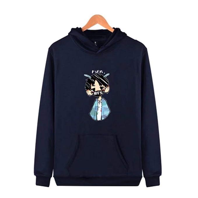 ... Hippie Hoodie Anchos Camicia Casual Pullover Tops Bolsillos Delanteros Cartoon Patrón Mujer Sudaderas Pareja Invernali: Amazon.es: Ropa y accesorios