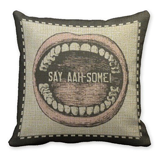 Mooninght Dentist Dental Hygienists Pillowcase Sizes