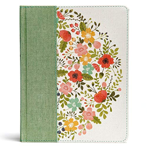 CSB Notetaking Bible, Sage Cloth Over Board ()