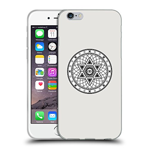 GoGoMobile Coque de Protection TPU Silicone Case pour // Q09680631 Mystique occulte 17 Platine // Apple iPhone 7