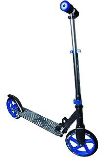 MUUWMI Aluminio 200 mm Scooter, Negro de Color Naranja, One ...