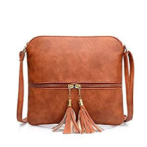 Bageek Shoulder Bag Vintage Messenger Bag Holiday Shopping Satchel Bag for Women