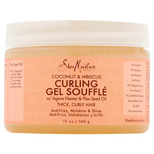 Gel Souffle - Shea Moisture Coconut & Hibiscus Gel Souffle 12 Ounce (354ml) (3 Pack)