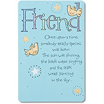 Amazon american greetings bird and stars birthday card for american greetings bird and stars birthday card for friend m4hsunfo