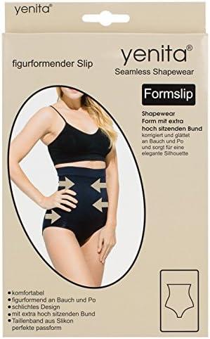 Yenita Women's Shapewear High Waist Brief, Tummy Bum Control
