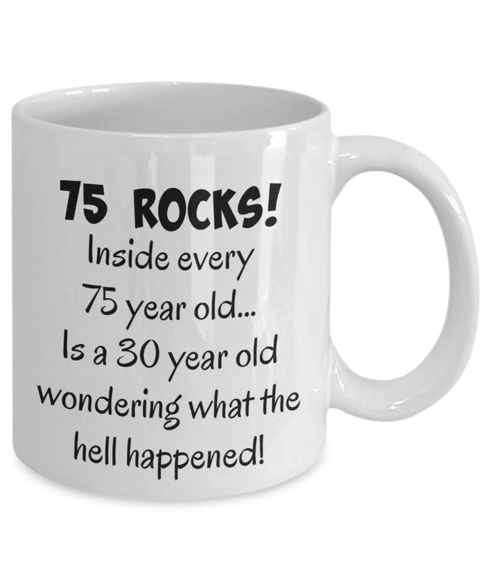 Feesten Speciale Gelegenheden 75th Birthday Gift Present Idea For Men Women Ladies Dad Mum Happy 75 Hat