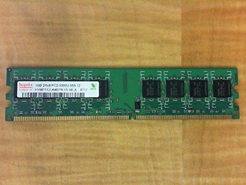 (HYNIX HYMP512U64BP8-Y5 1GB DESKTOP DIMM DDR2 PC5300(667) UNBUF 1.8v 2RX8 240 128MX64 64mX8 CL5 8k)