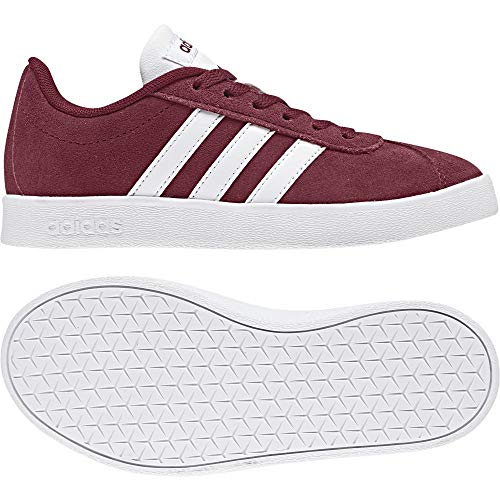 wholesale dealer 24c25 157f3 Rossocburgu – 2 Unisex 0 000 Adidas Ginnastica Vl ftwwht Court Da KScarpe  gretwo Bambini OkXiTPZlwu