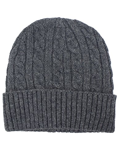 Dahlia Men's Wool Blend Knit Beanie