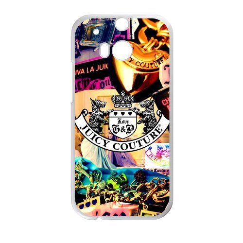 Price comparison product image Juicy Couture Fashion Comstom Plastic case cover For HTC One M8