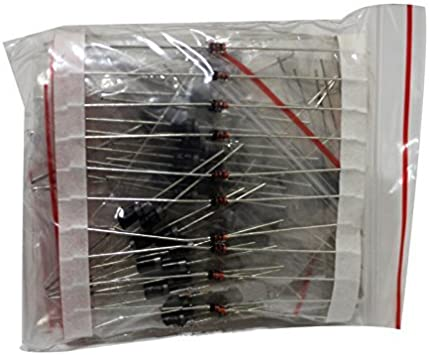 1N4148 pkg of 100 Diodes on tape