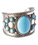 Turquoise Cuff Bracelet ,Silver Tribal Cuff,ethnic Jewelry,Mens Bracelet,womens Cuff,blue Bracelet