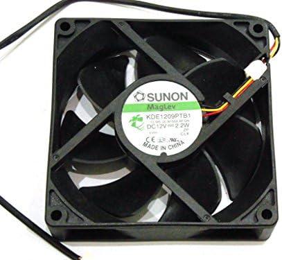 9 cm kde1209ptb1 13. La Sra. (2) .b1558. AF. GN 12 V 2,2 W 3 alambre cuadrado ventilador, ventilador Sunon: Amazon.es: Electrónica