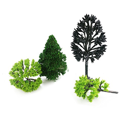 on sale About 30pcs Mixed Model Trees 1 5-6 inch(4 -16 cm), Diorama