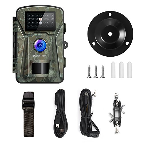 Waterproof Trail Camera For Outdoor Hunting And Nature