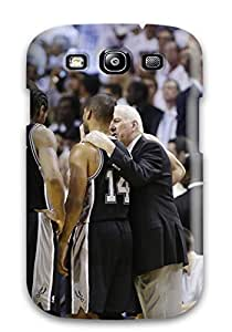 Hot 1737545K228989888 san antonio spurs basketball nba (28) NBA Sports & Colleges colorful Samsung Galaxy S3 cases