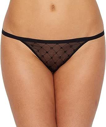 DKNY Women's Monogram Mesh String Bikini Panty