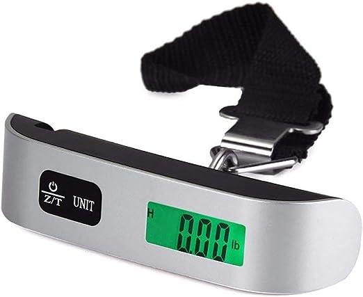 gancho para colgar B/áscula electr/ónica digital port/átil para equipaje de viaje b/áscula de peso