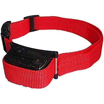 JK TECH No Bark Spray Dog Training Collar Pet Citronella Anti Bark Collar Training Tool Trainer Excludes Citronella Bottle for Small Medium Large Dogs (Sprayer Collar with Battery Red)