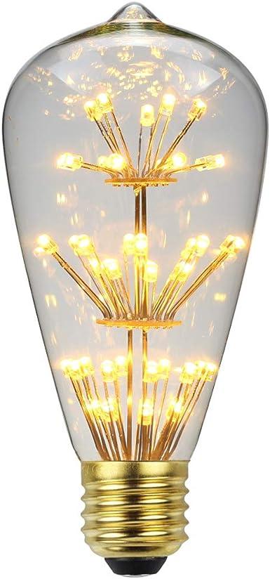 Tianfan Diamant Artifice ampoule LED RGB 3 W 220 V E27