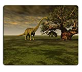 Luxlady Gaming Mousepad Prehistoric World IMAGE ID 3926746