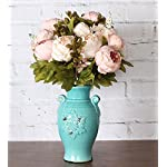 Duovlo-Fake-Flowers-Vintage-Artificial-Peony-Silk-Flowers-Wedding-Home-DecorationPack-of-1-Light-Pink