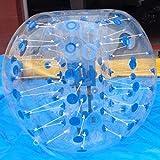 Strong Camel Body Zorb Balls Bumper Inflatable Human Soccer Bubble Ball Dia 1.5m (4.92ft) (Blue)