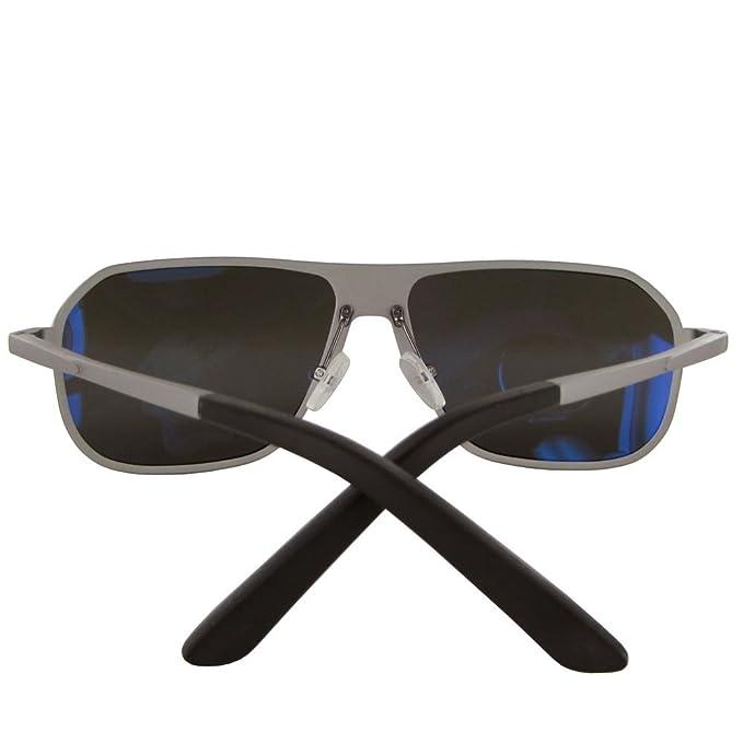 e8ed47863f677 Amazon.com  Vuarnet Extreme Unisex VE 7012 Square Polarized Aviator  Sunglasses