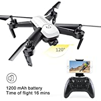 RC Drone, Rucan S8 1200mAh 2.4GHZ 4CH 6-Axis Gyro Aititude Hold RC Toy Helicopter Drone (B)