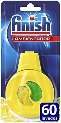 Finish Ambientador para Lavavajillas Limón - Paquete de 5: Amazon ...