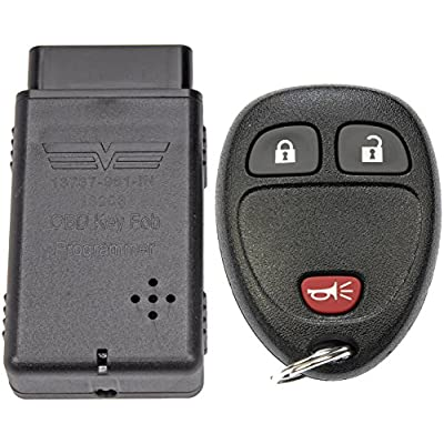 Dorman 99161 Keyless Entry Transmitter for Select Chevrolet/GMC Models, Black (OE FIX): Automotive