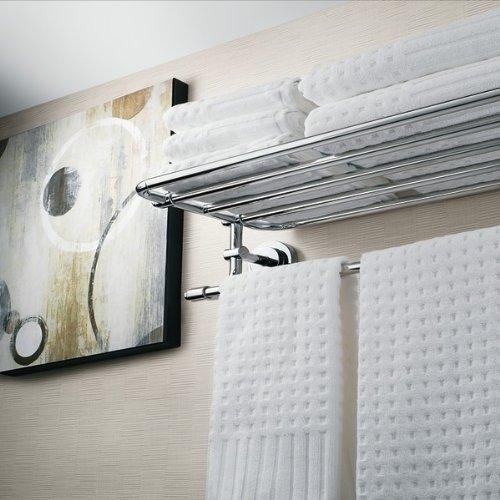 Gatco 1537 20-Inch Towel Rack, Chrome 80%OFF