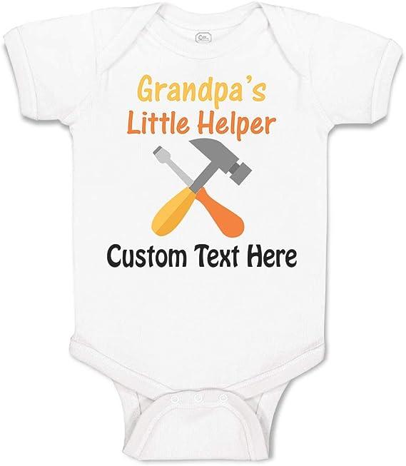 Grandpa/'s Little Girl Cotton Baby Bodysuit One Piece