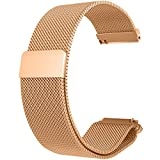 Product review for RuenTech 20MM Bands for Garmin Vivoactive 3 / Vivomove/Vivomove HR Bands, Metal Milanese Loop Bands for Garmin Vivomove/Vivomove HR and Vívoactive 3 GPS Smartwatch (Rosegold)