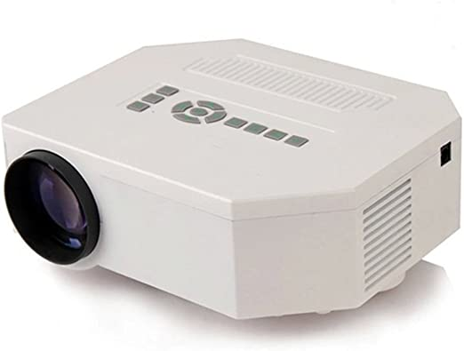 ZYWX HD Mini Mini Portátil LED Home Entretenimiento Proyector para ...