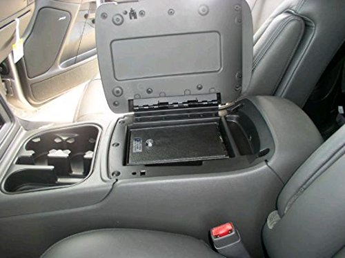 Console Vault safe for Chevy (Tahoe/Suburban) + Yukon + Yukon XL (Floor Console) ALL 2003-2006 (03 Chevy Console)