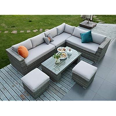 Outdoor Corner Sofa Sets for Sale
