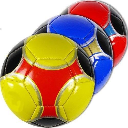 マルチ色付きサイズno。5サッカーボール卸売バルクロット(パックof 12 ) B079831DY4