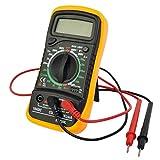 Goplus Digital Voltmeter Ammeter Ohmmeter Multimeter Volt AC DC Tester Meter ABS+PVC