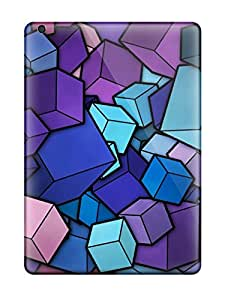 Awesome Cubes Flip Cases With Fashion Design For Ipad Air